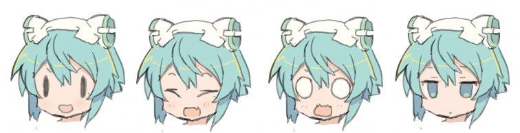 表情検討01